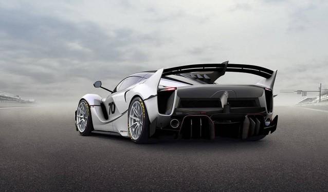Nuevo Ferrari FXX-K Evo