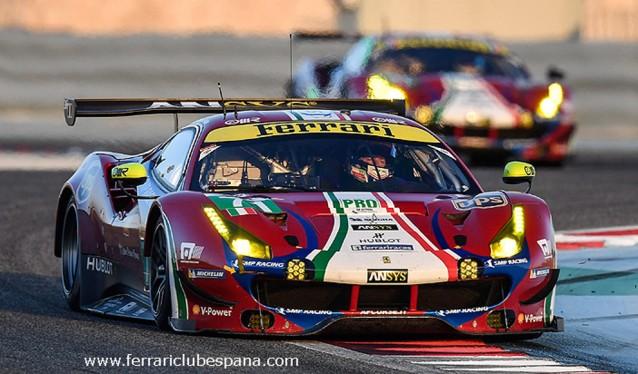 Ferrari mantendá sus alineaciones para el WEC