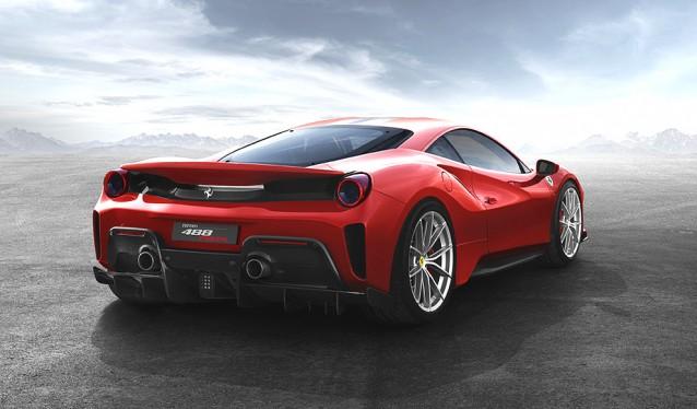 Nuevo Ferrari 488 Pista