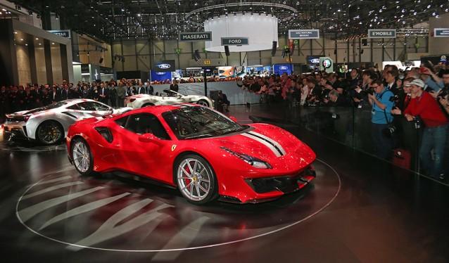 Ferrari presenta en Ginebra el nuevo 488 Pista