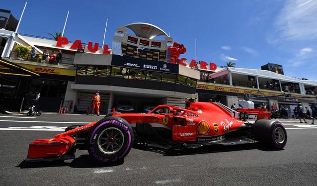GP de Francia de F1 - Libres Viernes