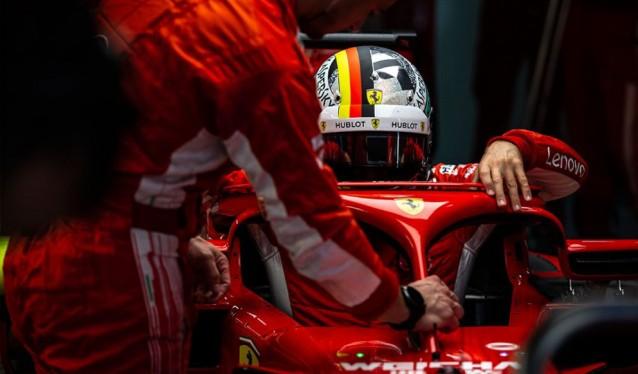 GP de EE.UU. de F1 - Previo Ferrari
