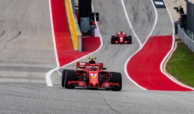 GP de EE.UU. de F1 - Clasificación