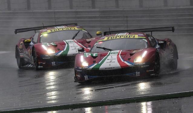 WEC: 6h de Shanghai - Carrera Ferrari