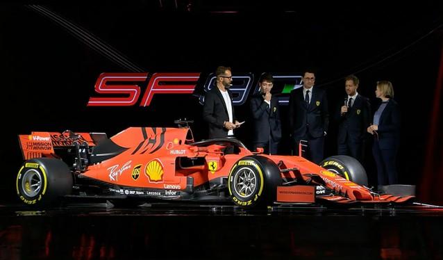 Ferrari presenta en Maranello, el SF90