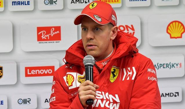 Vettel, encantado con su primer día de Test