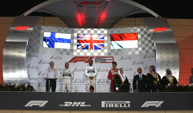 GP de Bahrein de F1 - Carrera