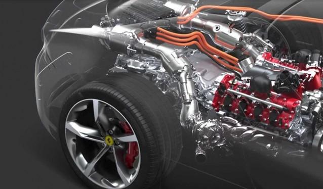 La base híbrida del Ferrari SF90 Stradale, se usará en más modelos