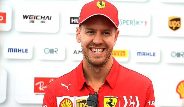 Tras las mejoras en Singapur, Ferrari y Vettel han vuelto a lo más alto