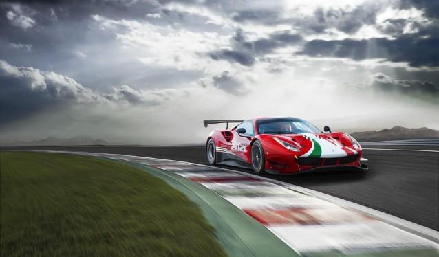 Ferrari presenta en Mugello el nuevo 488 GT3 Evo 2020