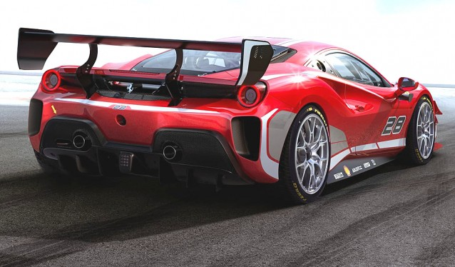 Nuevo Ferrari 488 Challenge Evo
