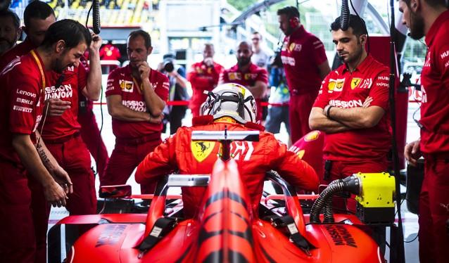 La FIA confisca el sistema de combustible de Ferrari, para un análisis exhaustivo