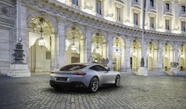 Galería Fotográfica del Ferrari Roma