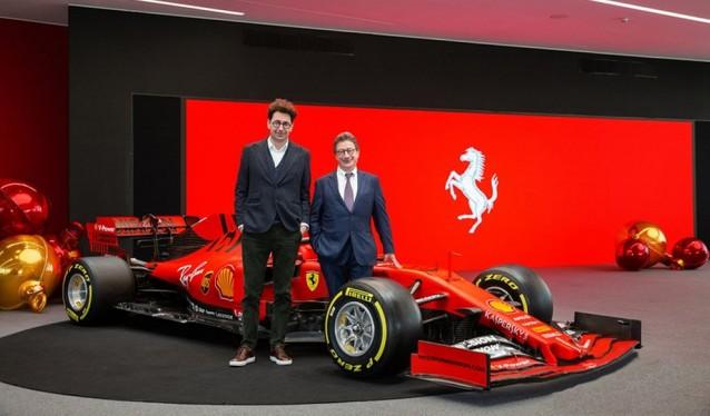 Comida de Navidad de Ferrari con la prensa...