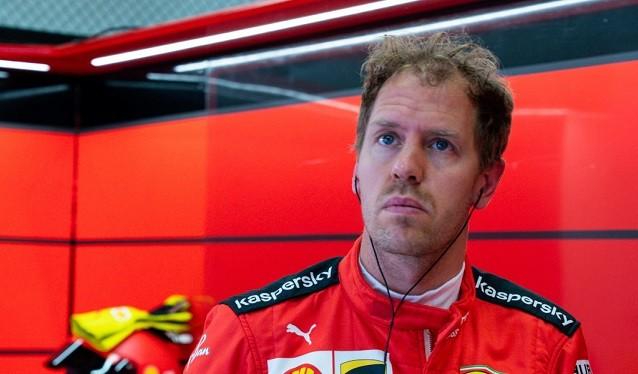 Vettel no entiende que pasa con su Ferrari