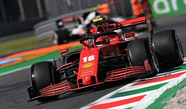 GP de Italia de F 1 - Libres del Viernes