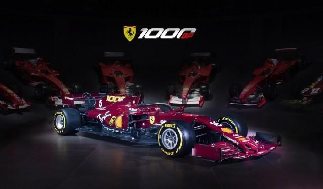 Ferrari presenta su librea para el GP de la Toscana de Fórmula 1