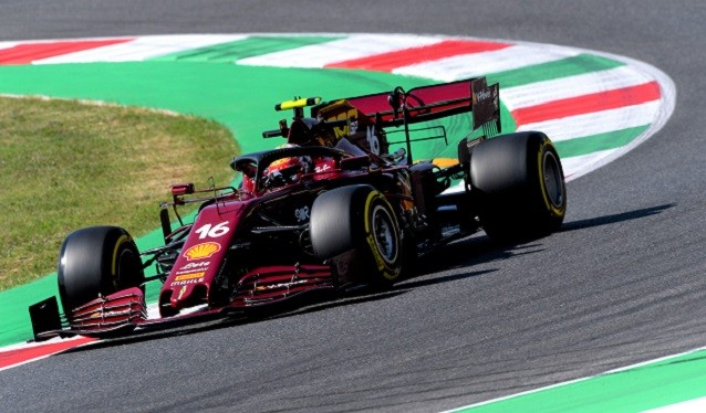 GP de la Toscana de F 1 - Libres del Viernes