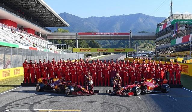 GP de la Toscana de F 1 - Calificación