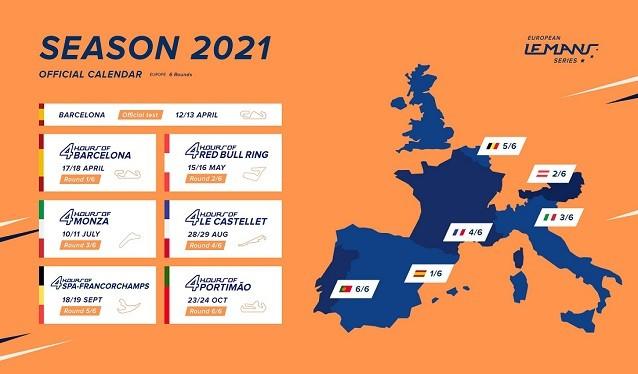 Las European Le Mans Series, vuelven a Barcelona en 2021