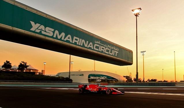 Test FIA de Fórmula 1 para Jóvenes Pilotos - Abu Dhabi