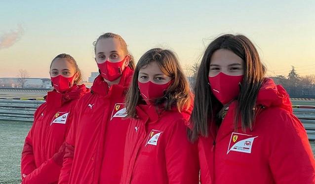 """Final en Fiorano del Programa FIA """"Girls on Track"""""""