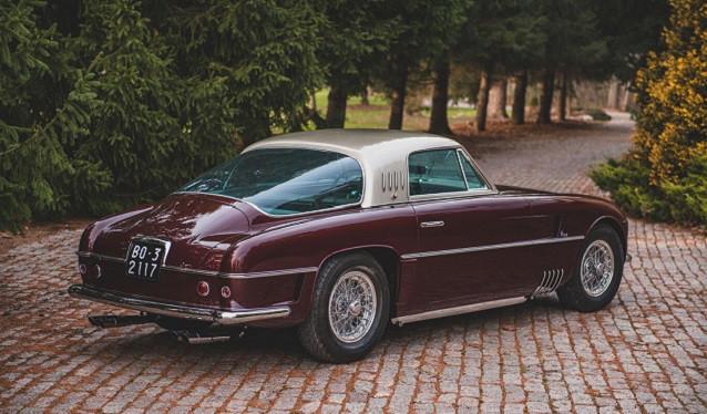 Un Ferrari 375 America Coupé Vignale de 1954, sale a subasta