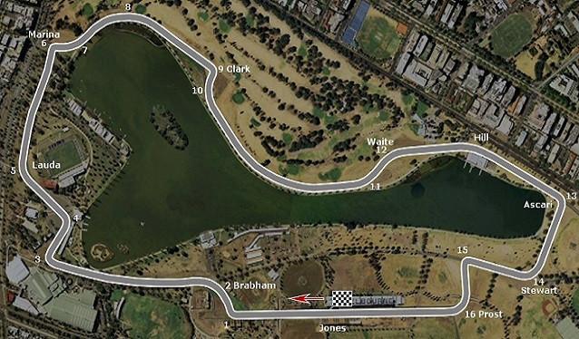 Los responsables de Albert Park, anuncian cambios en el trazado