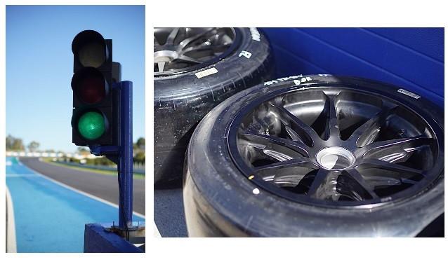 Sainz y Leclerc completan el segundo día de test de Pirelli en Jerez