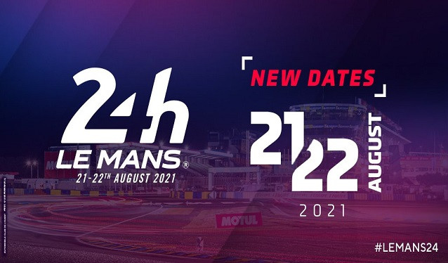 Las 24h de Le Mans se aplazan a agosto…