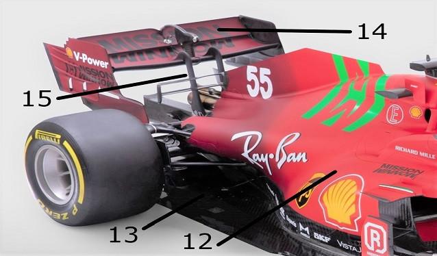 El Ferrari SF21 al detalle