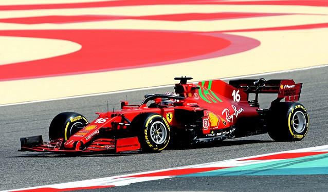 Ferrari completa su filming day en Bahrain