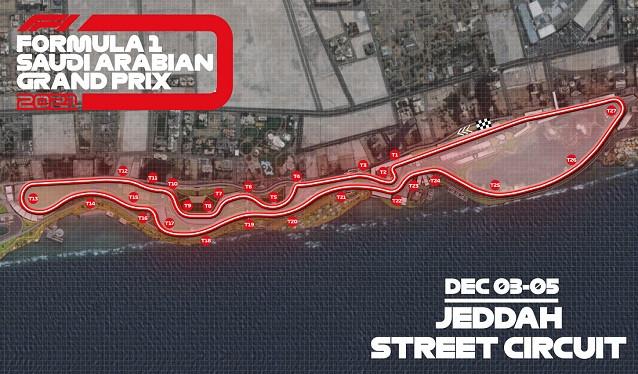 La F1 presenta el nuevo Circuito de Jeddah