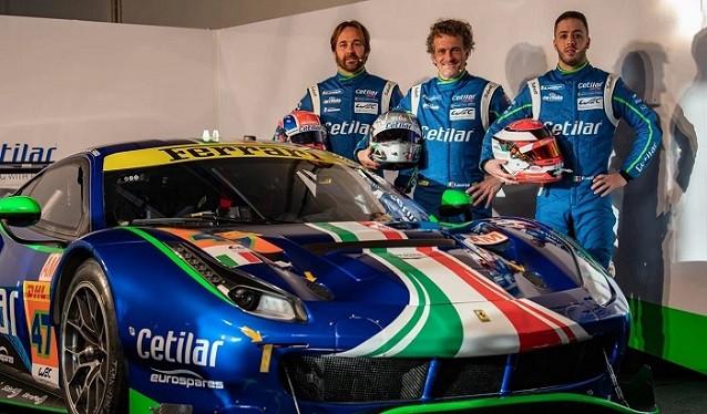 Cetilar Racing presenta su programa LMGTE para el WEC
