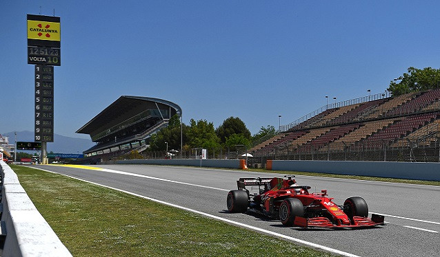 GP de España de F1 - Calificación
