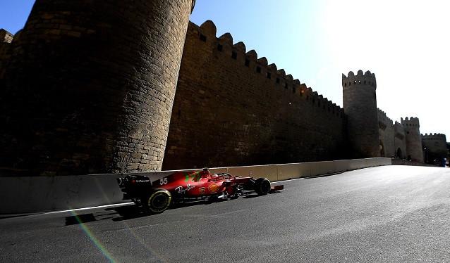 GP de Azerbaiyán de F1 - Libres del Viernes