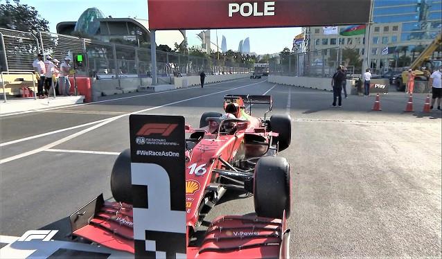 GP de Azerbaiyán de F1 - Calificación