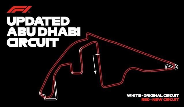 Abu Dhabi realizará cambios en su trazado este verano…