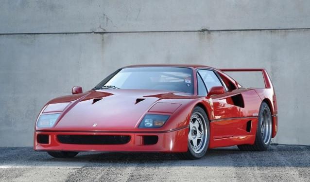 El único Ferrari F40 con embrague automático del mundo...