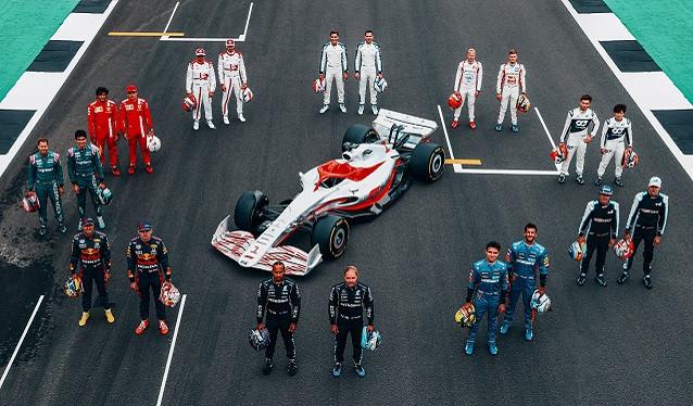 Primeras imágenes de como serán los Fórmula 1 del futuro