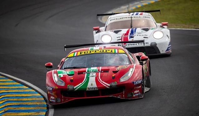 WEC - 24h de Le Mans - Carrera clase GT