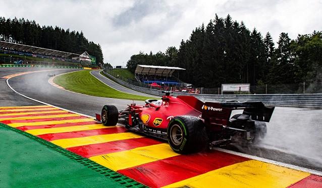 GP de Bélgica de F1 - Calificación