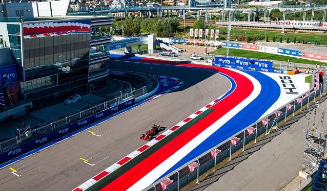 GP de Rusia de F1 - Libres del Viernes