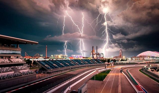 GP de Rusia de F1 - La FIA cancela por la lluvia los terceros libres
