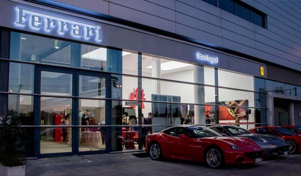 Ferrari en Madrid