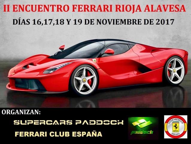 II Encuentro Ferrari Rioja-Alavesa