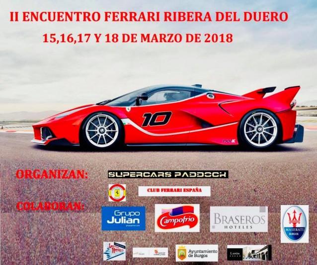 II Encuentro Ferrari en Ribera del Duero, Burgos