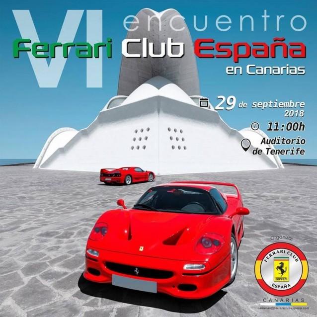 Encuentro Ferrari en Tenerife, Islas Canarias