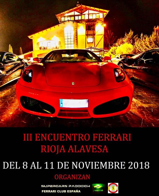 III Encuentro Ferrari Rioja Alavesa