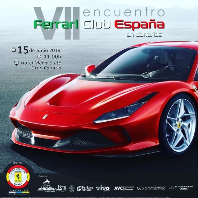 VII Encuentro Ferrari en Canarias (Gran Canaria)